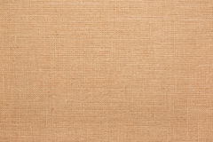 Linen, natural burlap texture background Stock Image