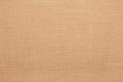 Linen, natural burlap texture background Stock Image