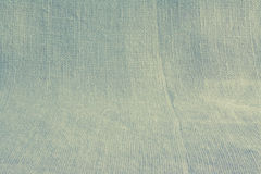 Linen natural canvas background basis fabric Royalty Free Stock Photos