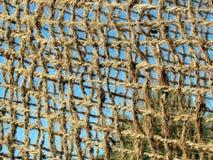 Linen net Stock Image