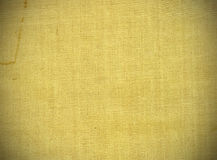 Linen. Old linen texture or background Stock Photo