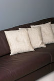 Linen pillows Royalty Free Stock Image