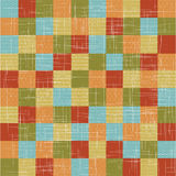 Linen quilt. Royalty Free Stock Photo
