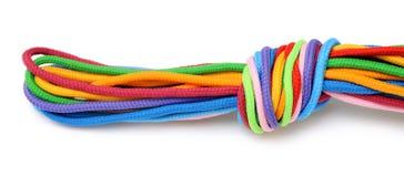 Linen rope Stock Photo