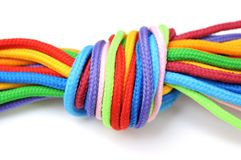 Linen rope Royalty Free Stock Images