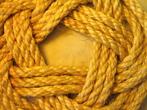 Linen rope. Texture suitable as background Stock Images