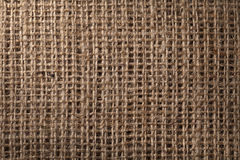 Linen sack background Royalty Free Stock Images