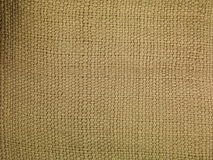 Linen sack background Royalty Free Stock Photography