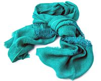 Linen scarf Royalty Free Stock Photography