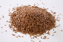 Linen seeds Stock Image
