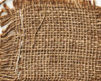 Linen straw texture hand made fabric. Banner for web and printing royalty free stock photos