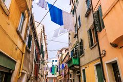 Linen on the streets of Venice Royalty Free Stock Photo