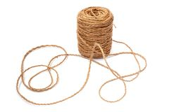 Linen String Royalty Free Stock Image