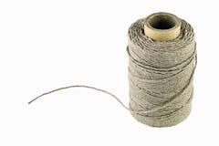 Linen string coil Stock Photos