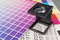 Linen tester Stock Photo