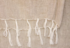 Linen textile Royalty Free Stock Photos