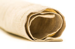 Linen texture fabric Royalty Free Stock Images