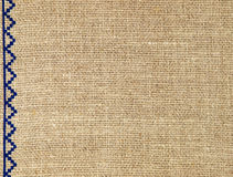 Linen texture pattern.Abstract background. Stock Photography
