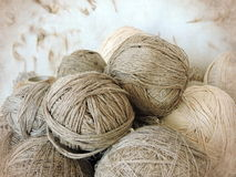 Linen thread Stock Image