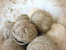 Linen thread Stock Image