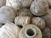 Linen threads pattern Royalty Free Stock Photos