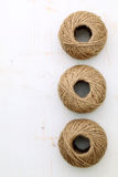 Linen twine Stock Photos