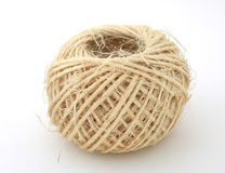 Linen twine ball Stock Photos