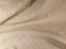 Linen unpainted fabric Royalty Free Stock Photography