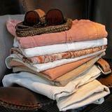 Linen Wardrobe Royalty Free Stock Image