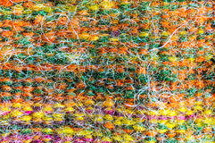 Linen wool colors fabric Royalty Free Stock Photos