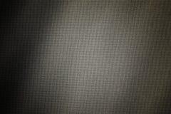 Linen woven canvas with shadows Stock Photography
