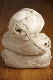 Linen yarn Stock Photography