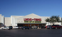 Linens 'n Things. TYLER, TX - NOV. 7: Linens 'n Things filed for Chapter 11 Bankruptcy in May of 2008 and closed 120 stores. On October 14, the company announced Royalty Free Stock Photography