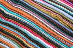 Linens in Otavalo Royalty Free Stock Photos