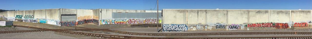 Lineorama grafitti 2 Royaltyfri Foto