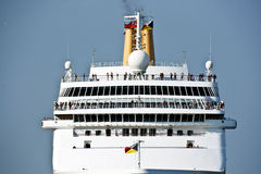 Liner. Cruise nautical tourist lainer. Venice Stock Images