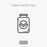 Liner  icon Royalty Free Stock Photos