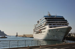 Liner in the Nice harbour (France) 2 Stock Photography