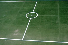 Lines. Of a soccer field Royalty Free Stock Photos