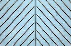 Lines. Garage door with symertic lines Stock Images