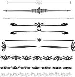 Lines. A great  selection of decorative lines and rules, with a few borders as well. All sorts of decorative applications such as rules, underlines, boxes etc Stock Photos