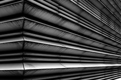 Lines. Abstract lines of a modern blass building Stock Image