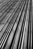 Lines. Abstract lines of a modern building Stock Photo