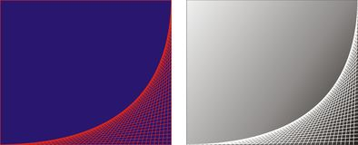 Lines. Abstract lines vector template background Stock Photo
