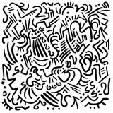 Lines art background Royalty Free Stock Image
