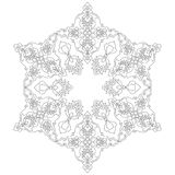 Lines artistic ottoman pattern series seventy two Royalty Free Stock Photos
