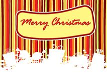 Lines background with grungy xmas object Stock Images