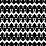 Lines broken with stars and arrows. Wallpaper background in black and white lines broken with stars and arrows Stock Photography
