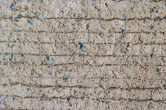 Lines on the cement floo Royalty Free Stock Image