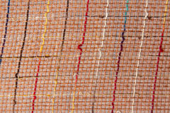 Lines of Color Fabric Pattern Royalty Free Stock Photography